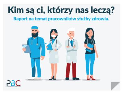 okładka raportu o lekarzach i pielęgniarkach
