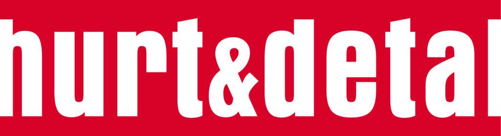 logo tytułu prasowego hurt detal