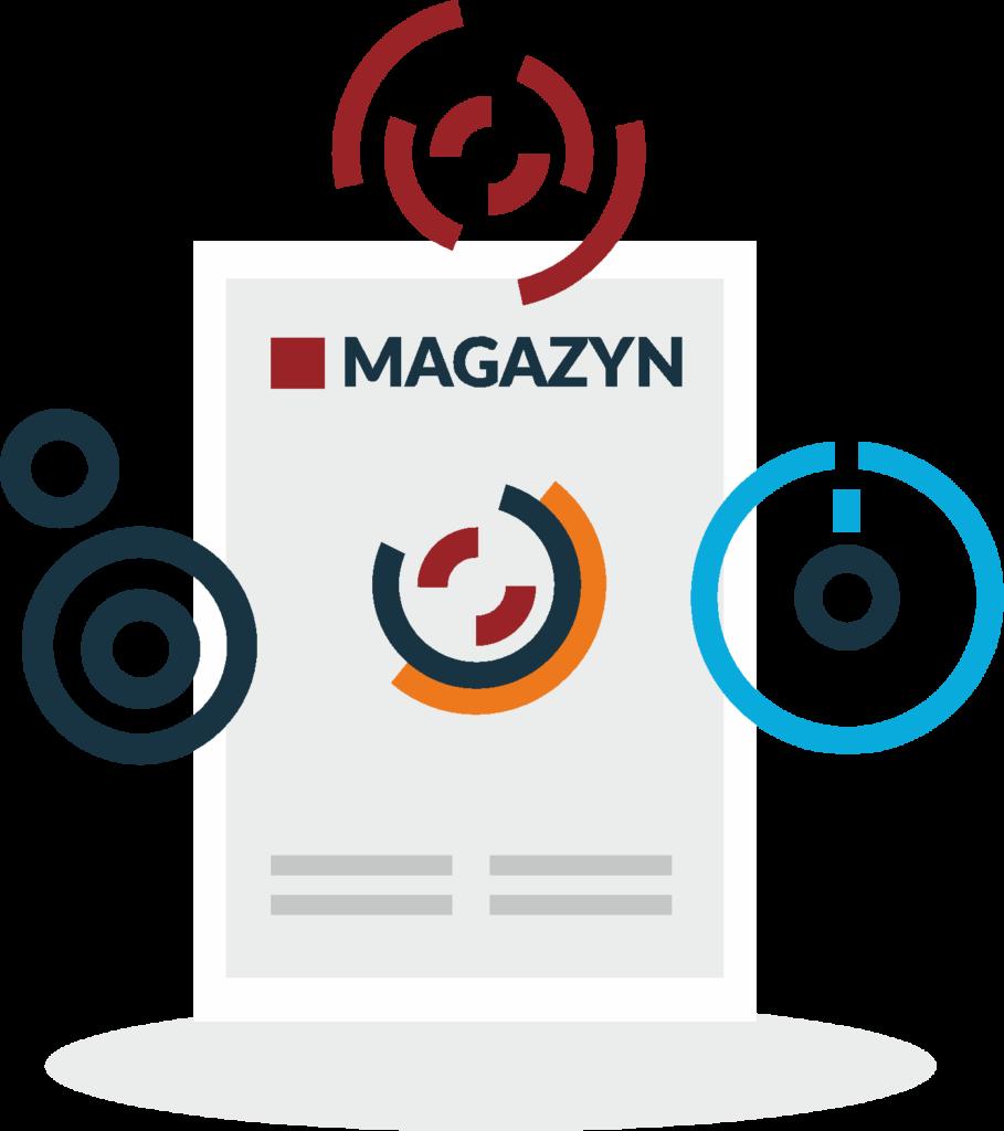 magazyn logo badań