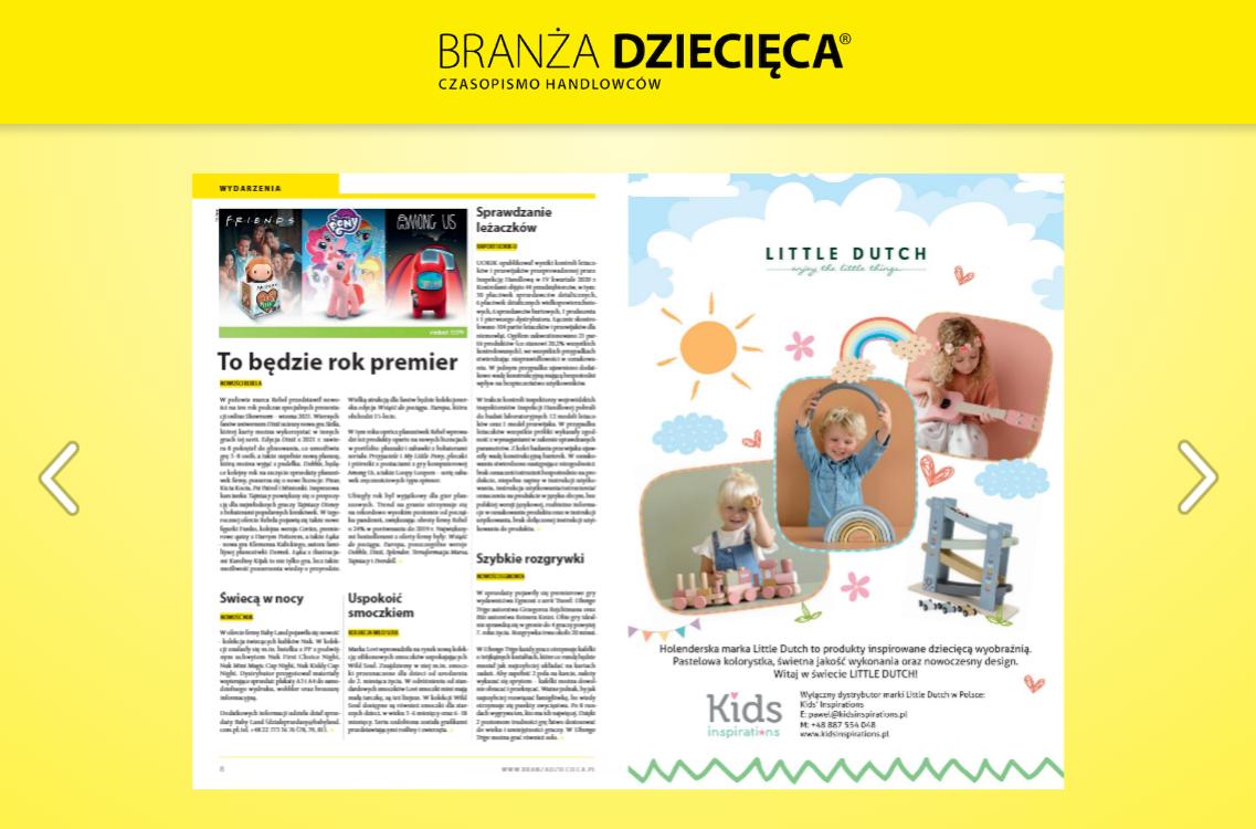 branża dziecięca e-wydanie pisma branżowego