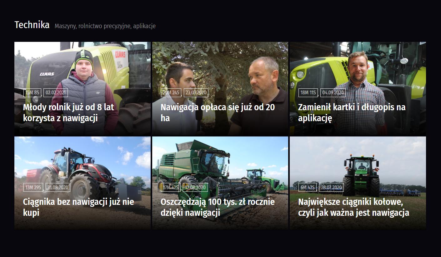 nagrania branży rolniczej